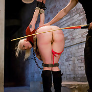 Slave dominated and screwed hard