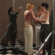 Blonde was punished hard