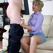 Mistress punished bad boy otk