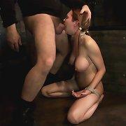 A slavegirl deserves a massive squirting and brutal orgasms