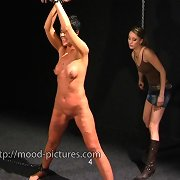 Milf was punished brutally