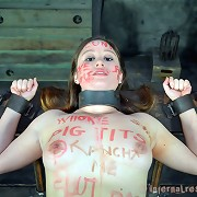 The master wants to humiliate his slaveslut Alexxa Bound