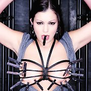 Aria wanted to be caged, tied, and erotically tortured