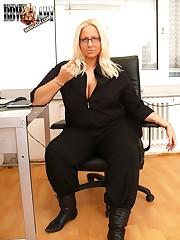 Office mistress back smutty Ganymede