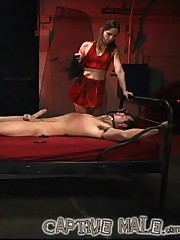 Harsh slave torture & caning