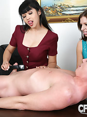 Boss was dominated and humiliated in cfnm