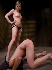 A slave was reliably tied and pumped