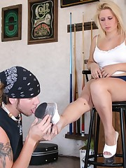 Shoe licking action fm