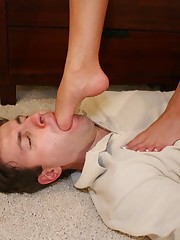 Severe body and head trampling