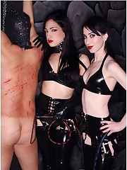 Cybill & Mina Black Latex