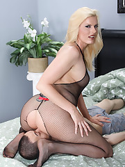 Hot pussy was licked