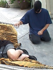 Mistress got looked after by her slave when sleeping