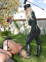 Male slaves were punished