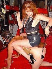 Mistress rides slave