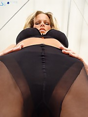 Pantyhose black facesitting