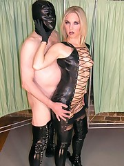 Open Rubber Dress