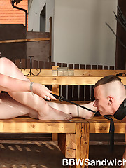 Two super-sized dommes demand worship