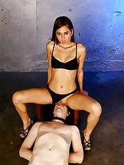 Mistress Riley Reid Queening
