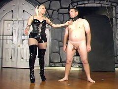 Hungry for ballbusting