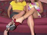 Lesbians love heels