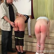 The daddy is spanker