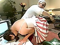 Kiki's bent over and spanked till her cute