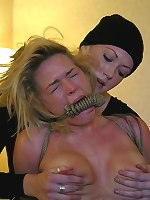 Krissy Lynn, Sabrina Fox - Stripped and abused