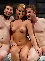 Husband got tied and cuckolded