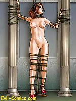 Fantasy art redhead secured ins tocks