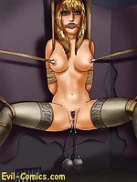 Inescapable bondage for fantasy illustration ladies