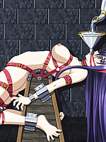 Harsh and unusual bondage and humiliation fantasies, hentai style
