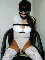 Bondage sluts love rope and chain