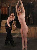 Nicki Blue hard anal Bondage.