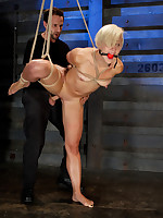Slave Dylan was pumped a lot and gave deep throat