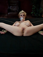 Predicament bondage and humiliation at the hands of lesbian Domme