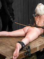 Claire & Orlando Control together for the first time ever aloft camera with the toughest victim they can think of - Cherry Torn.