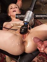 When anal slut Penny Pax endures four times of submissive training, her botheration is stretched, used and mistreated in the Armory's dungeons