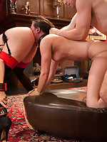 Anon Anal Floozy Casey Calvert petitions a catch House, she us fucked in 'round holes in sexy Boy / Girl / Girl anal action.