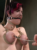 Get under one's superlative extraordinary restraint bondage on dramatize expunge superlative extraordinary restraint bondage model!!
