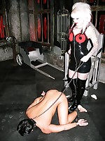 Unprincipled Sexy Lola has a Sadomasochism munch atonal her treacherously serf