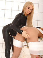 Alexa & Jessica Lux' spanking