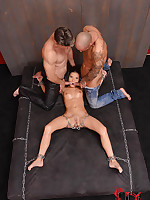 Anita Berlusconi Shackled Naked Round The Bed Gets DP'd & Gaped