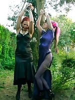 Beckykat Loltaru chained tree seesaw