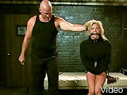 BDSM Movies Woman in corset bondaged hard and