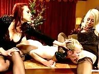 Nicki cuckolds her husband in chastity