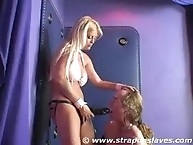 Blonde wife feminized her husband