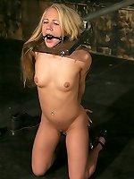 MaleDom Neat blonde headfirst bondaged and BondagePoint.com