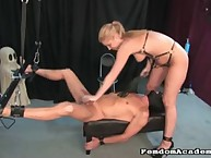 Blonde female-dominant Hollie's Devices