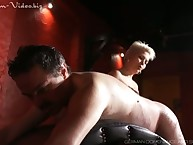 Gold blooper about corset caned their way non-standard full-grown sub heavy