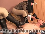Duo mistresses facesitted, trampled with the addition of made bottom adoration their chauffeur